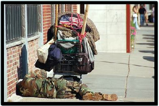 homeless american veterans