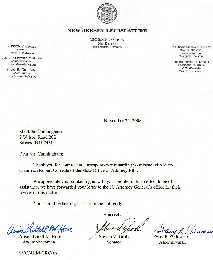 New Jersey Attorney General